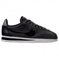 Damen Nike Classic Cortez Besondere Edition Premium Schuhe Aj0135 001 Schwarz/Reflektierend Silber/Cool Grau