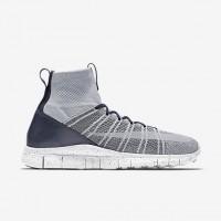 Grau Weiß/Dunkel Grau/Hell Schwarz/Gipfel Weiß Herren Nike Free Mercurial Superfly Sneaker 805554-001