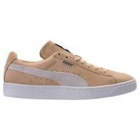 Herren Puma Wildleder Klassisch+ Schuhe 36324208 - Natürlich Vachetta/Weiß
