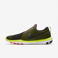 Ladung Khaki/Gesamt Crimson/Volt/Schwarz Nike Free Connect 843966-302 Damen Schuh