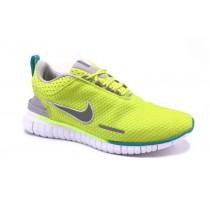 Fluorescence Gelb Nike Free Og Breathe Id Herren Sneaker