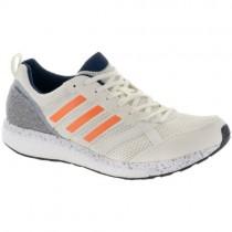 Adidas Adizero Tempo 9 Männer Schuhe Im Aus Weiß/Hi-Res Orange/Kollegium Marine