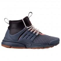 Licht Kohlenstoff/Granatapfel Rot/Gummi Mittel Nike Air Presto Mid Utility Premium Damen Schuh Aa0674 002