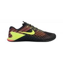 Herren Nike Metcon 3 Schuhe - Farbe: Schwarz/Volt/Hyper Crimson/Hell Grün