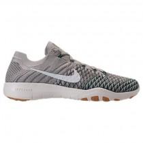 Nike Free Tr Flyknit 2 Damen Schuh 904658 002 Blass Grau/Beige/Licht Charcoal/Jahrgang