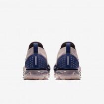 Herren Nike Air VaporMax Flyknit 2 Diffus Taupe/Blau Leere/Sepia Stein/Phantom Laufschuhe 942842-201