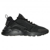 Frauen Schwarz/Dunkel Grau Nike Air Huarache Run Ultra Sneaker 819151 011