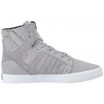 Supra Skytop Männer Grau/Weiß Schuhe
