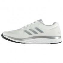 Weiß/Silber Herren Adidas Mana Bounce 2 Schuhe