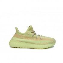 Männer/Frauen Adidas Yeezy Boost 350 V2 Semi Gefroren Gelb Schuhe
