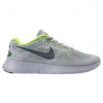 Wolf Grau/Cool Grau/Grau Weiß Damen Nike Free Rn Schuhe 880840 004