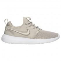 Damen Nike Roshe Two Breathe Blass Grau/Weiß/Licht Blau Schuh 896445 002