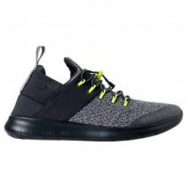 Fluoreszierend Grün/Licht Grün/Wolf Grau Herren Nike Free Rn Commuter Sneaker 922910 001