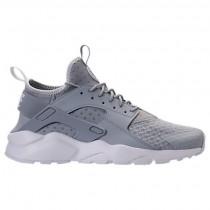 Männer Nike Air Huarache Run Ultra Schuh 819685 007 Wolf Grau/Blass Grau/Weiß