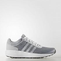 Frauen Adidas Neo Cloudfoam Race Grau Zwei/Matte Silber/Schuhwerk Weiß Bb9844 Schuh