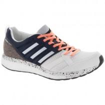 Frauen Adidas Adizero Tempo 9 Weiß/Aero Blau/Ader Schwarz Schuhe