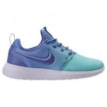Nike Roshe Two Breathe Frauen Schuh 896445 400 Polarisiert Blau/Türkis