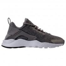 Nike Air Huarache Run Ultra Staub/Metallisch Pewter/Schwarz/Weiß Damen Sneaker 859516 009