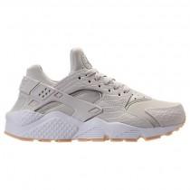 Damen Nike Air Huarache Run Se Licht Knochen/Gummi/Gelb/Weiß Schuhe 859429 004
