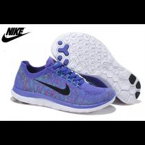 Nike Free 4.0 Flyknit Damen Schuhe Persisch Violett Hyper Jade Fuchsie Flash Schwarz 717076-501