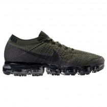 Ladung Khaki/Schwarz/Mittel Olive Herren Nike Air Vapormax Flyknit Schuhe 849558 300