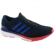 Ader Schwarz/Echt Lila/Hi-Res Rot Adidas Adizero Boston 6 Männer Sneaker