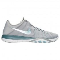 Damen Nike Free Tr 6 Schuh 833413 007 Wolf Grau/Rauchig Blau/Glimmer Blau