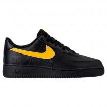 Nike Air Force 1 '07 Herren Schuhe Aa4083 002 Schwarz/Amarillo