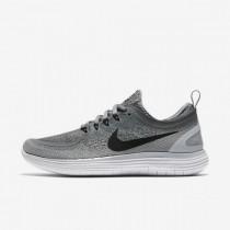 Cool Grau/Wolf Grau/Fluoreszierend Grün/Schwarz Nike Free Rn Distance 2 Damen Sneaker