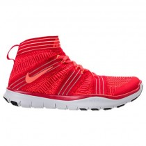 Herren Nike Free Train Instinct 2 Universität Rot/Hyper Orange/Karmesinrot Sneaker 898052 600
