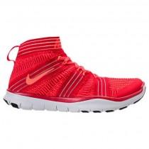 Herren Nike Free Train Instinct 2 Universität Rot/Hyper Orange/Karmesinrot Sneaker 898052 600