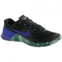 Schwarz/Heftig Lila/Hasta/Kanone Nike Metcon 2 Herren Schuh