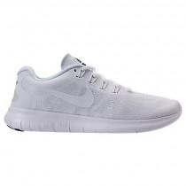 Weiß/Schwarz/Grau Weiß Damen Nike Free Rn Schuh 880840 100