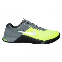 Nike Metcon 2 Schuhe Damen Volt/Weiß/Cool Grau 821913-700