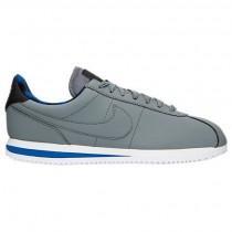 Nike Cortez Basic Premium Herren Schuhe 844791 002 Im CoolGrau/HyperBlau/Weiß