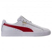 Puma Weiß/Barbados Kirsche Herren Puma Clyde Ader L Foil Schuh 36466903