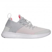 Damen Grau Weiß/Licht Grau/Hell Grün Nike Free Rn Commuter Sneaker 880842 004