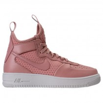 Nike Air Force 1 Ultraforce Mitte Damen Schuhe 864025 600 - Partikel Rosa/Beige