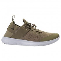 Nike Free Rn Commuter Premium Männer Schuh Aa2430 201 Khaki/Mittel Olive/Aus Weiß