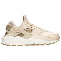 Frauen Nike Air Huarache Run Premium Rosa Beige/Khaki/Beige/Gum Mittel Braun Schuh 683818 102