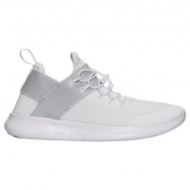 Weiß/Grau Weiß/Dunkel Grau Frauen Nike Free Rn Commuter Schuhe 880842 100