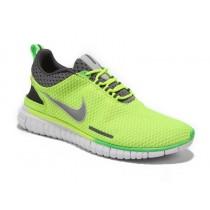 Fluoreszenz/Grün Grau Nike Free Og Breathe Id Herren Schuh