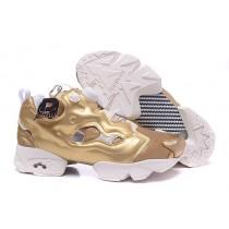 Reebok Insta Pump Wut Gold Weiß Männer/Frauen Schuhe