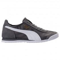 Grau/Weiß Herren Puma Roma Og Nylon Schuhe 36240802