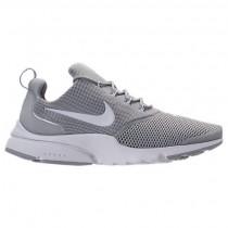 Herren Nike Presto Fly Sneaker 908019 003 Im Wolf Grau/Weiß
