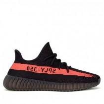 Damen/Herren Adidas Kanye West Yeezy Yeezy Boost 350 V2 Schwarz Rot Schuhe