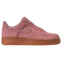 Partikel Rosa/Gummi Rot Braun/Elfenbein Damen Nike Air Force 1 '07 Se Schuhe Aa0287 600
