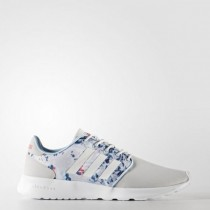 Grau Ein/Schuhwerk Weiß/Super Rosa Adidas Neo Cloudfoam Qt Racer Frauen Schuhe Cg5776