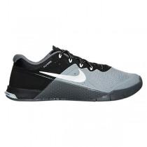 Nike Metcon 2 Schuhe - Damen Fluoreszierend Grün/Weiß/Schwarz/Dunkel Grau 821913-001