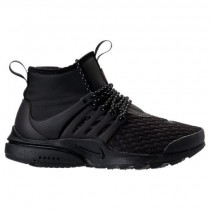 Schwarz/Weiß Nike Air Presto Mid Utility Premium Damen Schuhe Aa0674 003